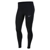 Women Racer Tights, Black