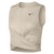 Singapore NIKE Women Crop Twist Dry Tank, Desert Sand/Black