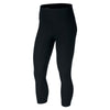 Singapore NIKE Women Sculpt Hyper Crop Leggings, Black/Clear