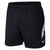 Men Dry Shorts, Black/White