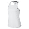 Singapore NIKE Women Nikecourt Dry Tank, Black/White