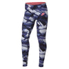 Girls Sportswear Favorite All Over Print JDI Leggings, Twilight Pulse/Lava Glow