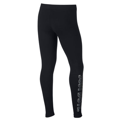 Singapore NIKE Pants & Leggings Girls Sportswear JDI Favorite Leggings, Black/Lava Glow