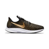 Women Air Zoom Pegasus 35 Running Shoes, Black/Metallic Gold/Wheat Gold