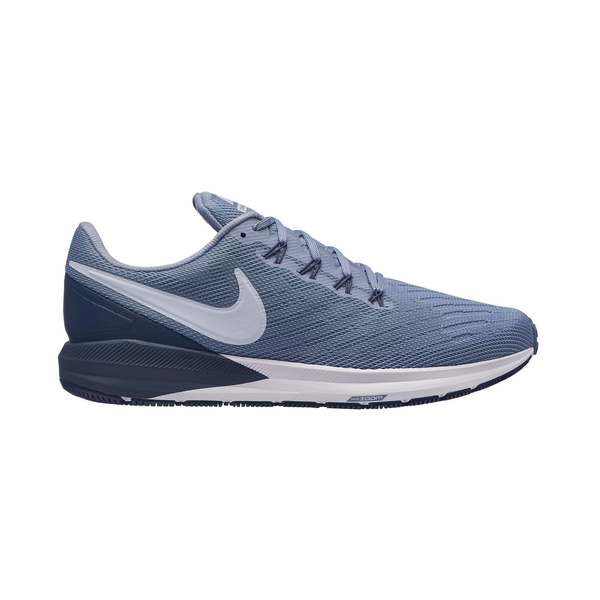 huge discount 71f4e 7a1db Buy NIKE Men Air Zoom Structure 22 Running Shoes, Ashen Slate Football  Grey Thunder Blue Online in Singapore   Royal Sporting House