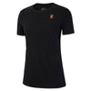 Women Nikecourt Heritage Tee, Black