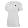 Women Nikecourt Heritage Tee, White