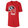 Boys Soccer Brian Dry Tee, University Red/White