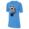 Boys Pixel Ball Dry Tee, University Blue