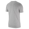 Men Dry-Fit All Over Print Tee, Vast Grey/White