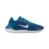 Boys Free Rn 2018 Grade School Running Shoes, Blue Force/White/Green Abyss/Volt
