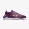 Girls  Free Rn 2018 Grade School Running Shoes, Violet Dust/Mtlc Gold Star/Night Purple
