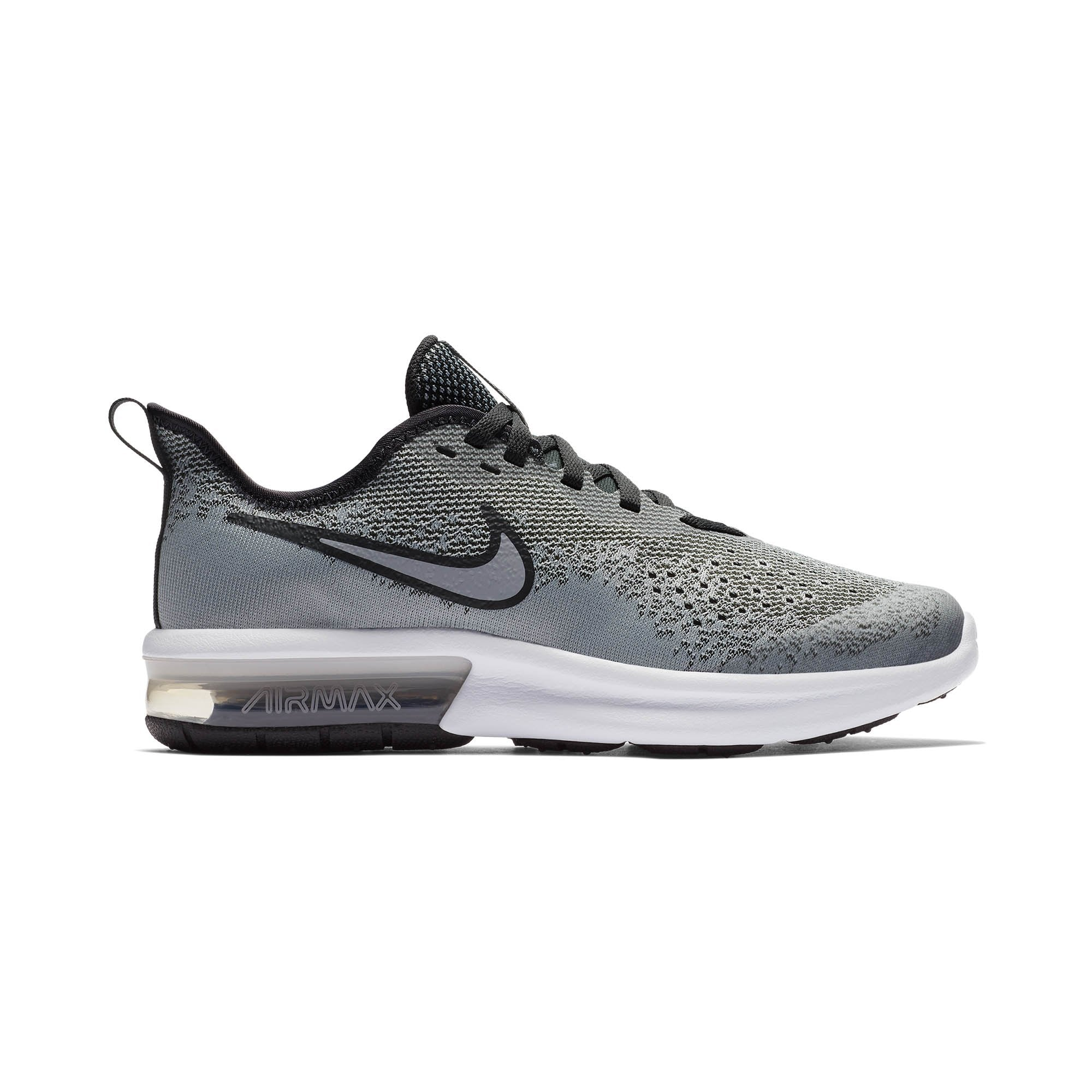 Buy NIKE Boys Air Max Sequent 4 Grade School Running Shoes c6bd01ba8