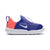 Girls Lil Swoosh Sneakers, Persian Violet/White/Lava Glow