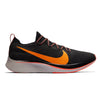 Singapore Nike Men Zoom Fly Flyknit Running Shoes, Black/Orange Peel/Flash Crimson