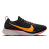 Women Zoom Fly Flyknit Running Shoes, Black/Orange Peel/Flash Crimson
