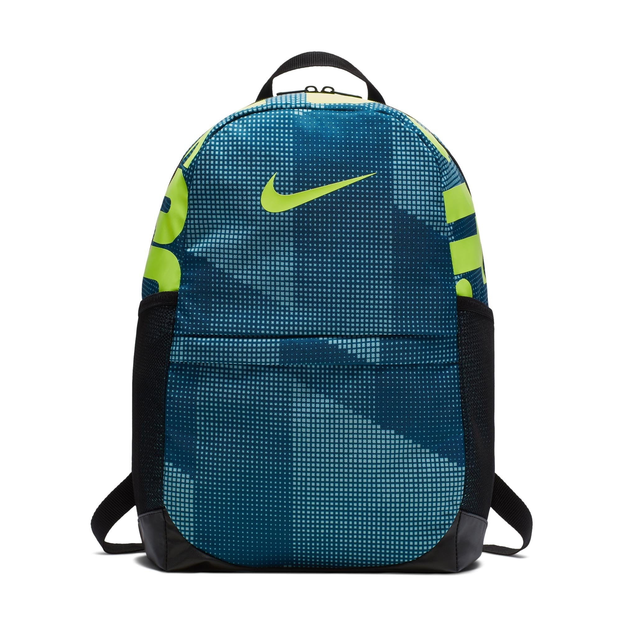 Buy NIKE Brasilia All Over Print Backpack, Blue Force Black Volt Online in  Singapore   Royal Sporting House 90f4ff8840