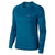 Singapore Nike Women Long Sleeve Miler Top, Green Abyss