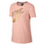 Women Sportswear Metallic GX Short Sleeve Top, Storm Pink