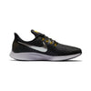 Men Air Zoom Pegasus 35 Running Shoes, Black/Mtlc Pewter/Gridiron/Peat Moss