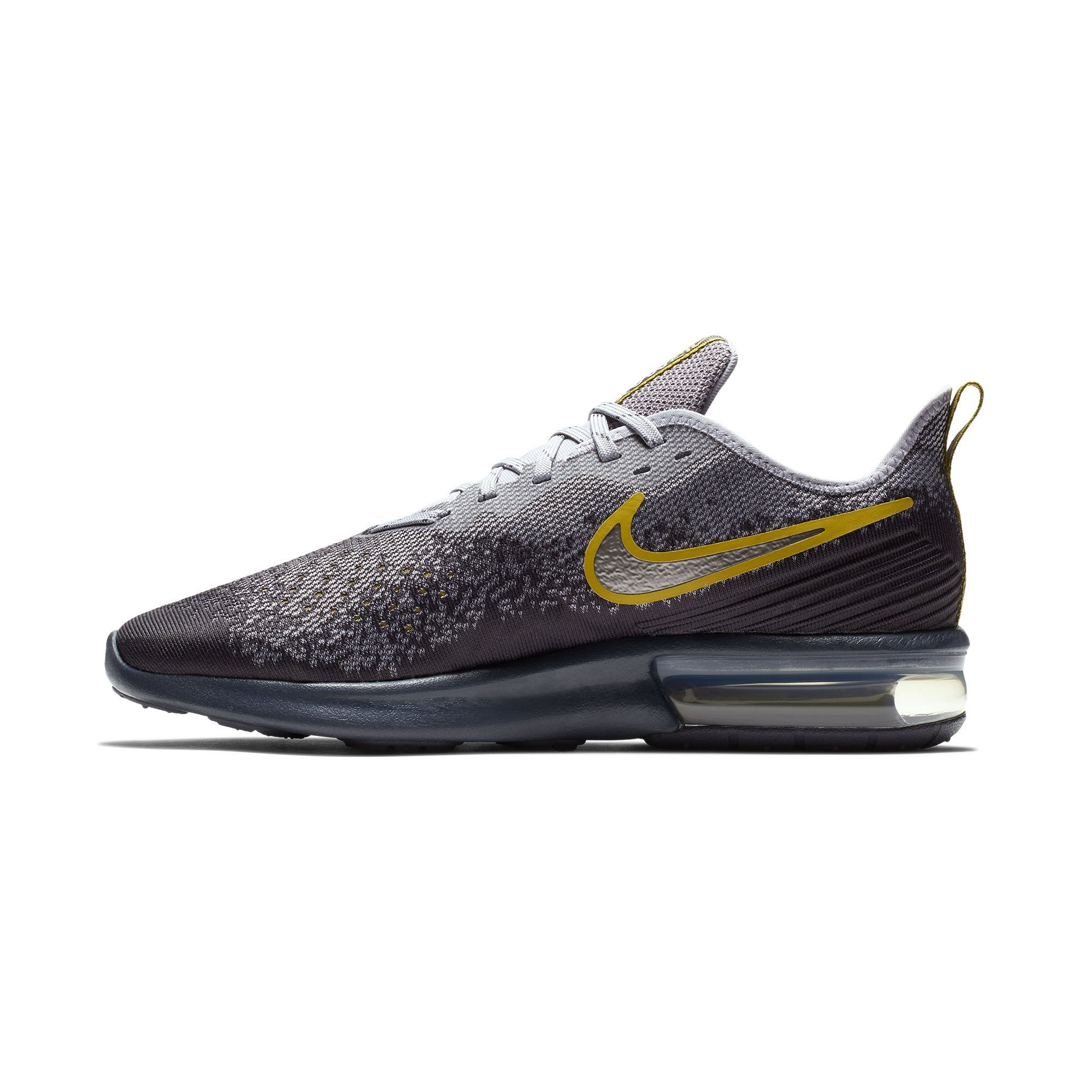 sports shoes a8ba3 80a8d Men Air Max Sequent 4 Running Shoes, Gridiron Mtlc Pewter Provence Purple