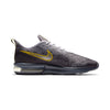 Men Air Max Sequent 4 Running Shoes, Gridiron/Mtlc Pewter/Provence Purple