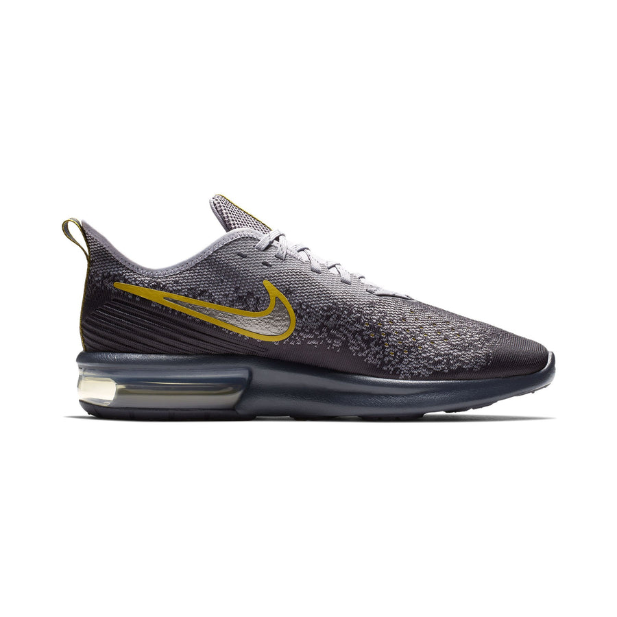 sports shoes 5ede1 b40fd Men Air Max Sequent 4 Running Shoes, Gridiron Mtlc Pewter Provence Purple