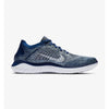 Singapore Nike Men's Free Run Flyknit 2018 Running Shoes, Blue Void/White/Blue Tint/Red Orbit