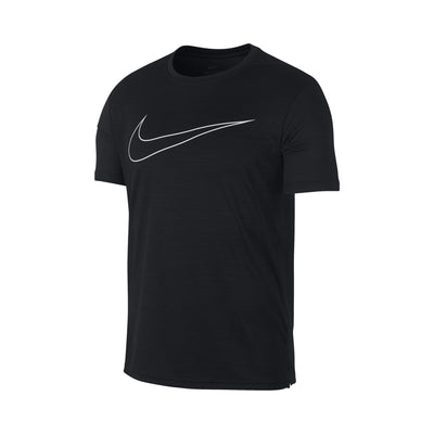 Singapore Nike Men's Superset Graphic Short Sleeve Top, Black/White