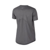Women's Miler HBR1 Short Sleeve Top, Gunsmoke/Heather/Reflective Silver