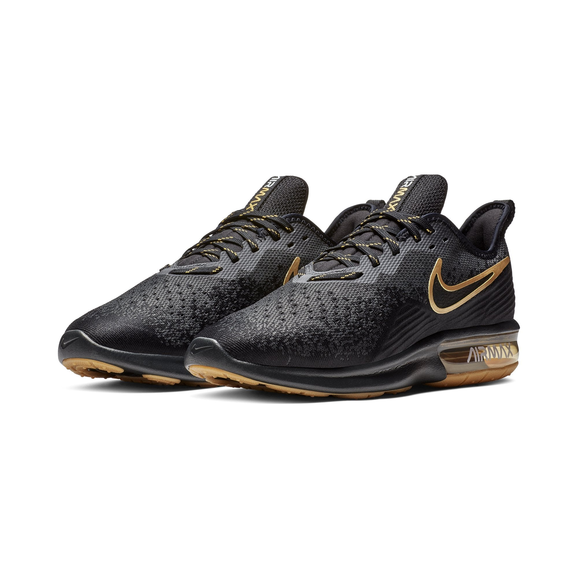 eeff92ab3124e Buy Nike Men's Air Max Sequent 4 Running Shoes, Black/Anthracite ...