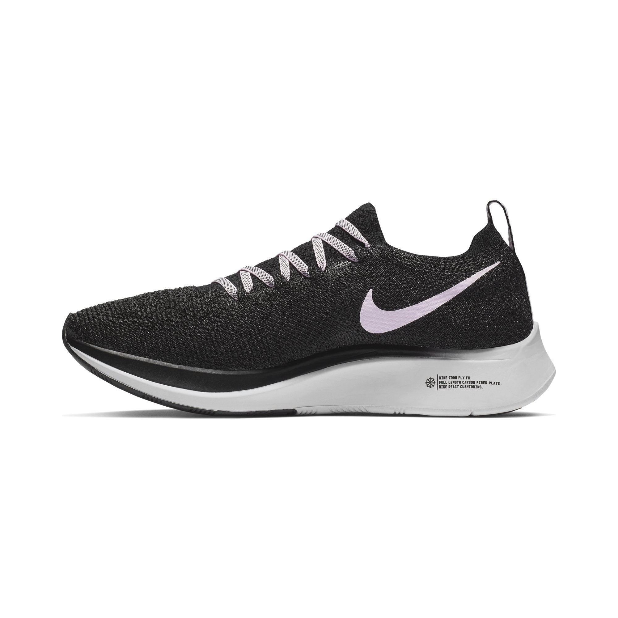 quality design b6d4e 24674 Women s Zoom Fly Flyknit Running Shoes, Black Pink Foam Vast Grey