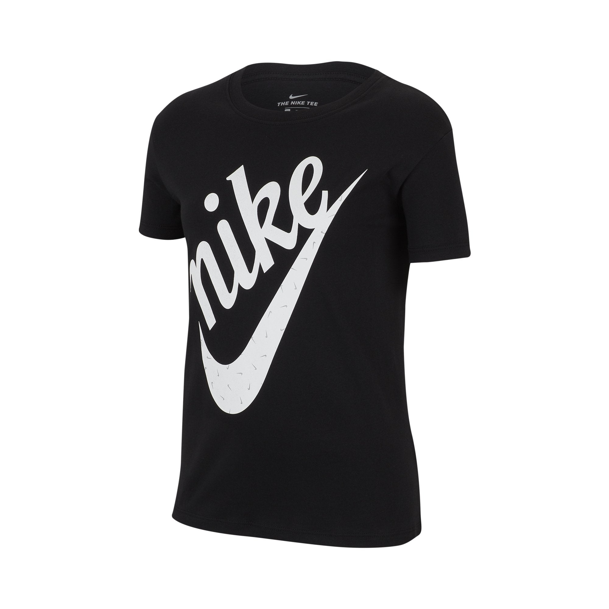 e3a47dd4 Buy Nike Girls' Sportswear Icon Futura T-shirt, Black Online in Singapore |  Royal Sporting House