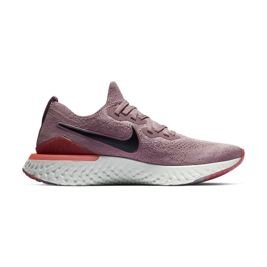 low priced 33198 59bbf Women Epic React Flyknit 2 Running Shoes, Plum Dust Black Ember Glow