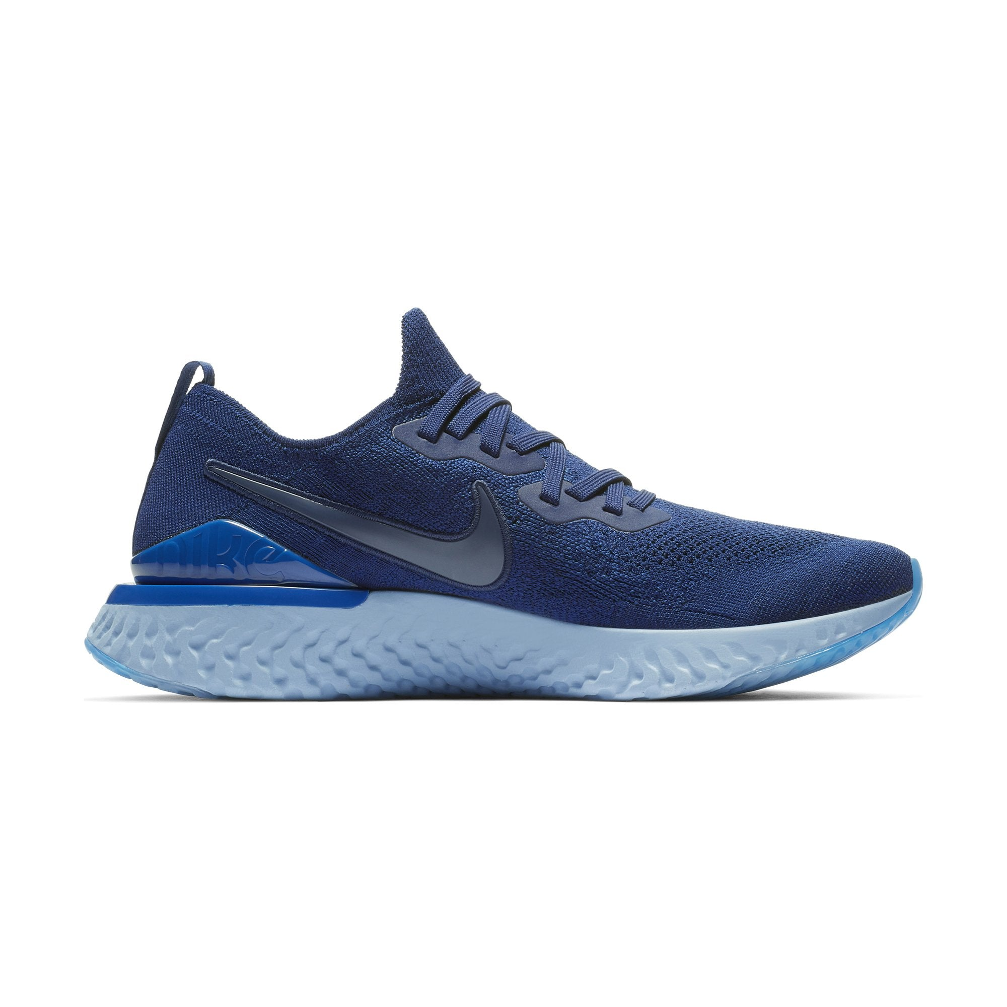 the best attitude a22d1 137bb Buy Nike Men Epic React Flyknit 2 Running Shoes, Blue Void Indigo Force  Black Online in Singapore   Royal Sporting House