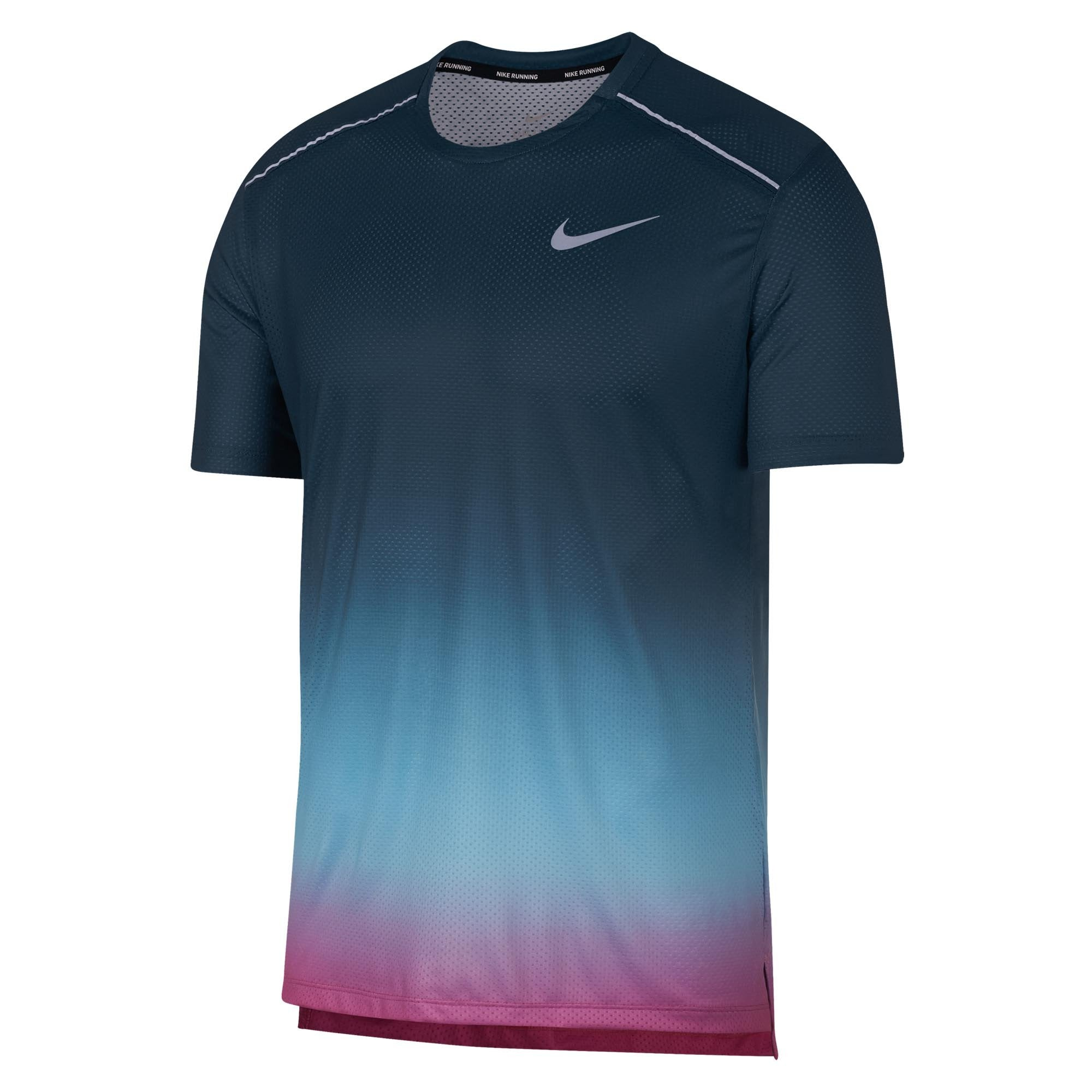 67639abd Buy Nike Men Dry Miler Shortsleeve Printed Top Online in Singapore ...