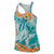 Girls Sportswear All Over Print Foliage Tank Top