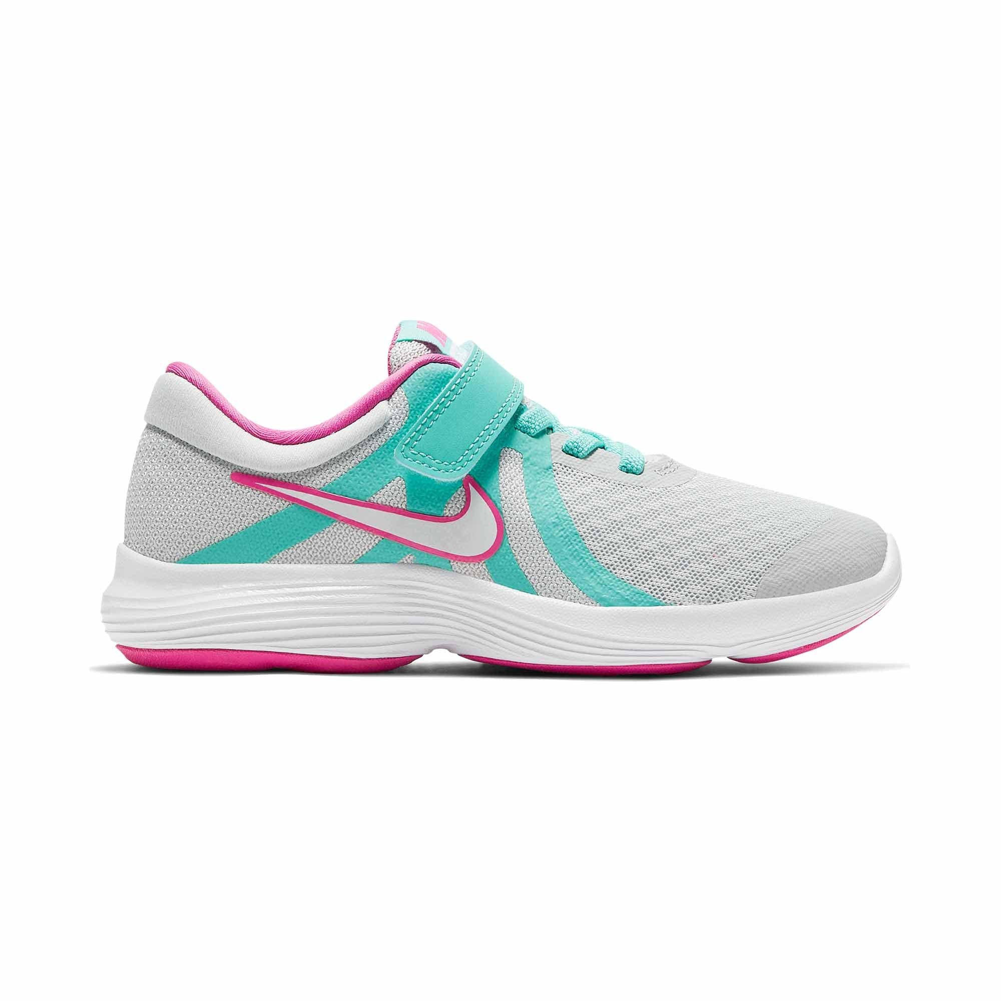 a6fafe13 Buy Nike Girls Revolution 4 Aqua Pre-School Running Shoes Online in  Singapore | Royal Sporting House