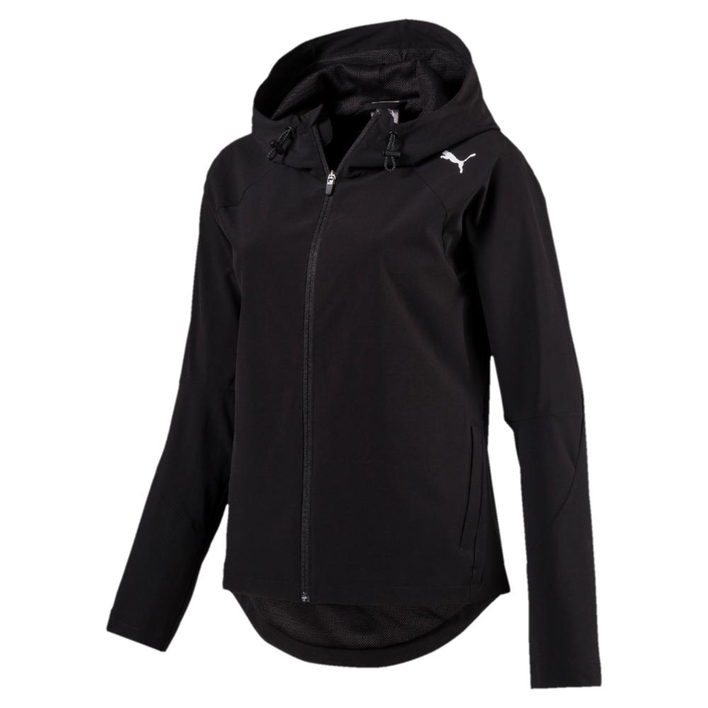 48da970d00f9 Buy Puma Women Evostripe Woven Full Zip Hoodie