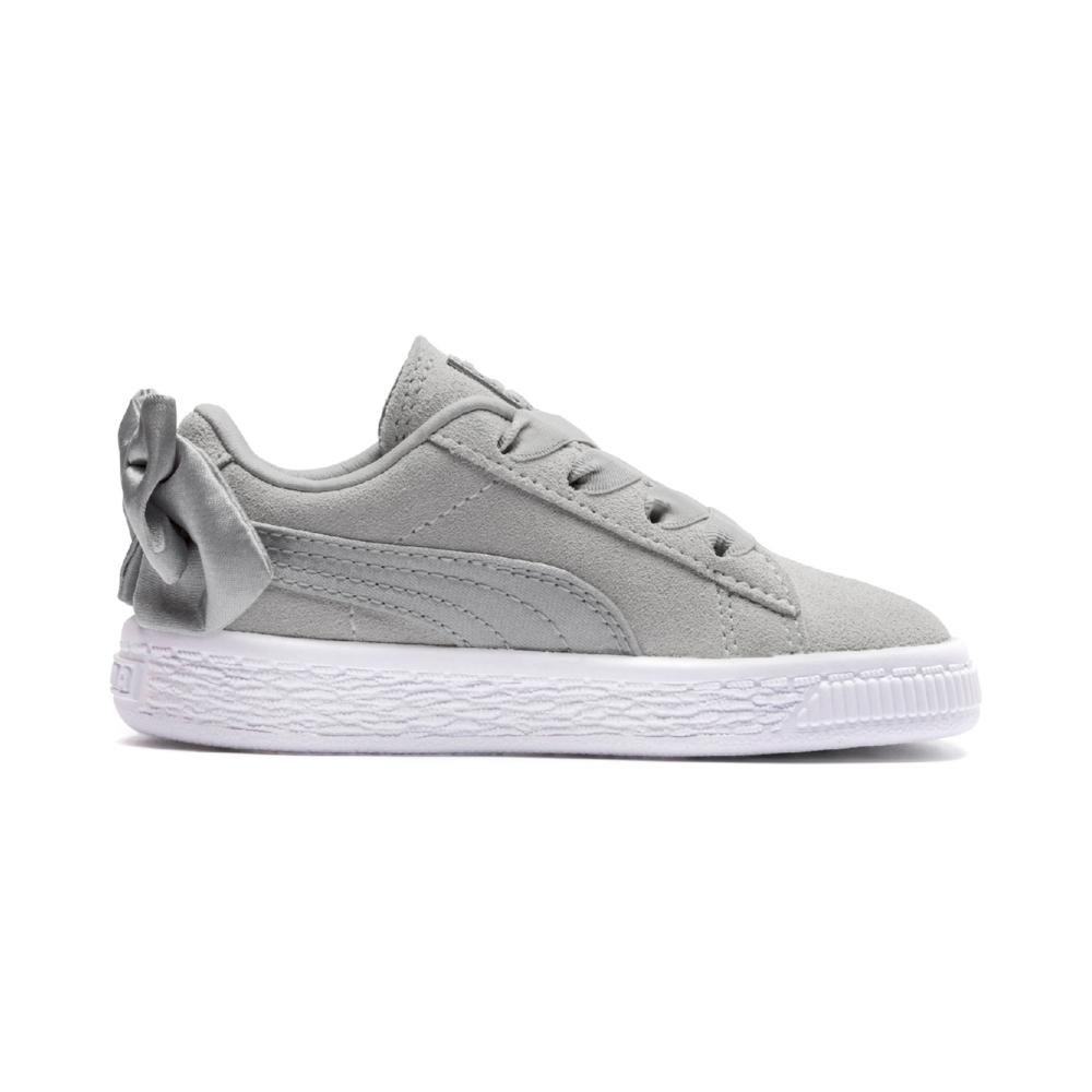 ac1797cc62f Buy Puma Boys Suede Bow Pre School Sneakers, Grey Online in Singapore |  Royal Sporting House