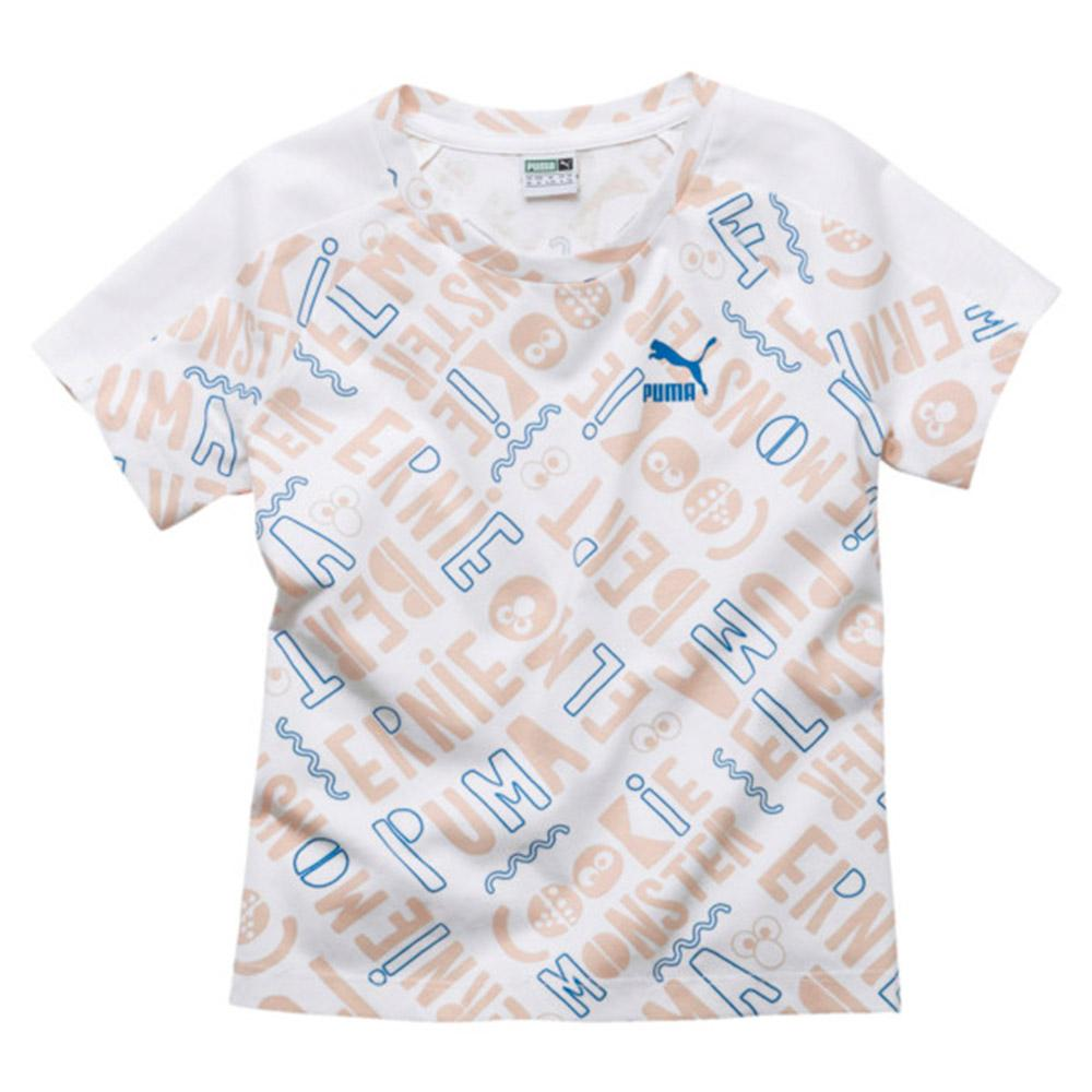 39411fa1286cae Buy Puma Girls Sesame Street All Over Print Tee Online in Singapore | Royal  Sporting House