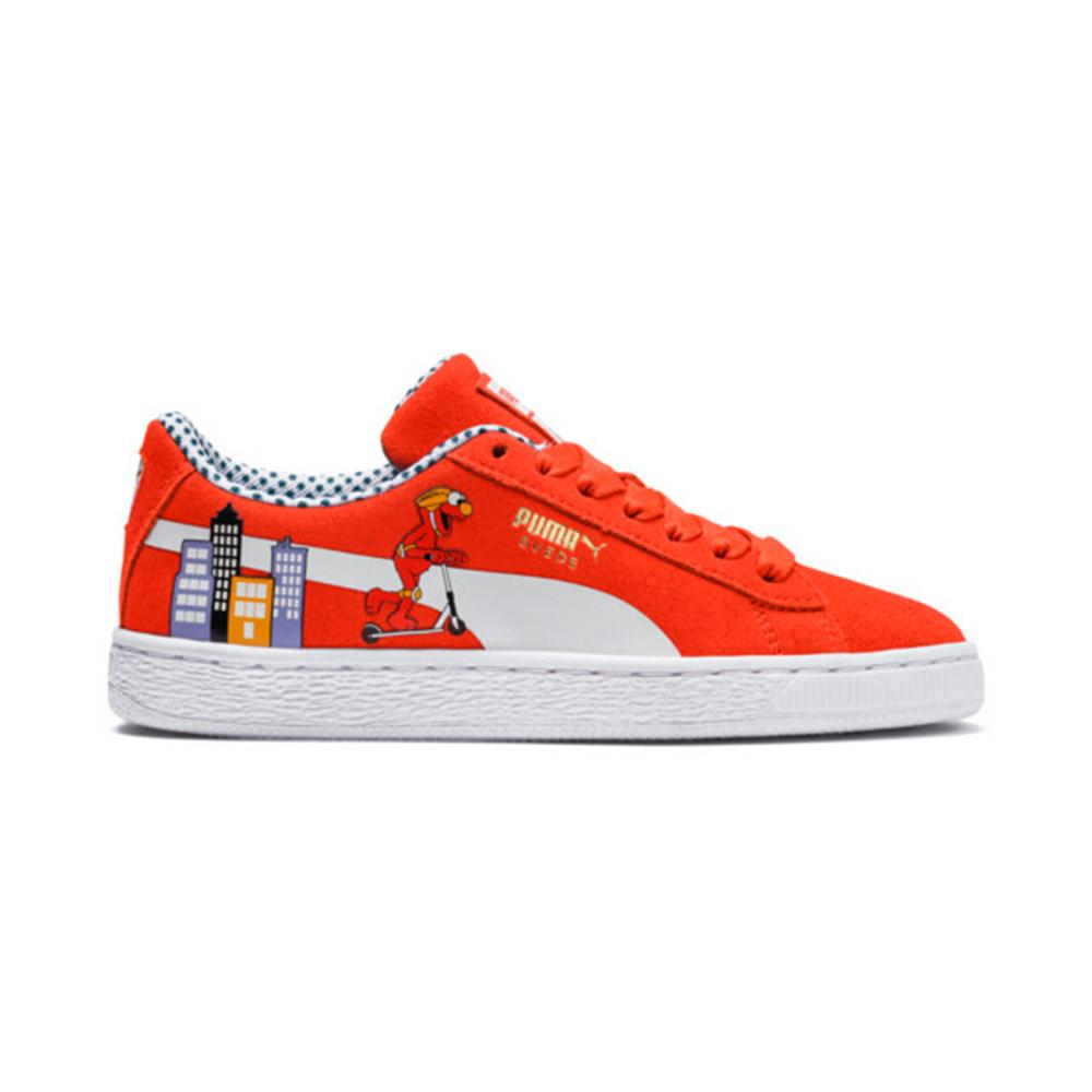 buy online 6b412 a2f0e Buy Puma Kids Sesame Street 50 Suede Junior Sneakers Online in Singapore |  Royal Sporting House