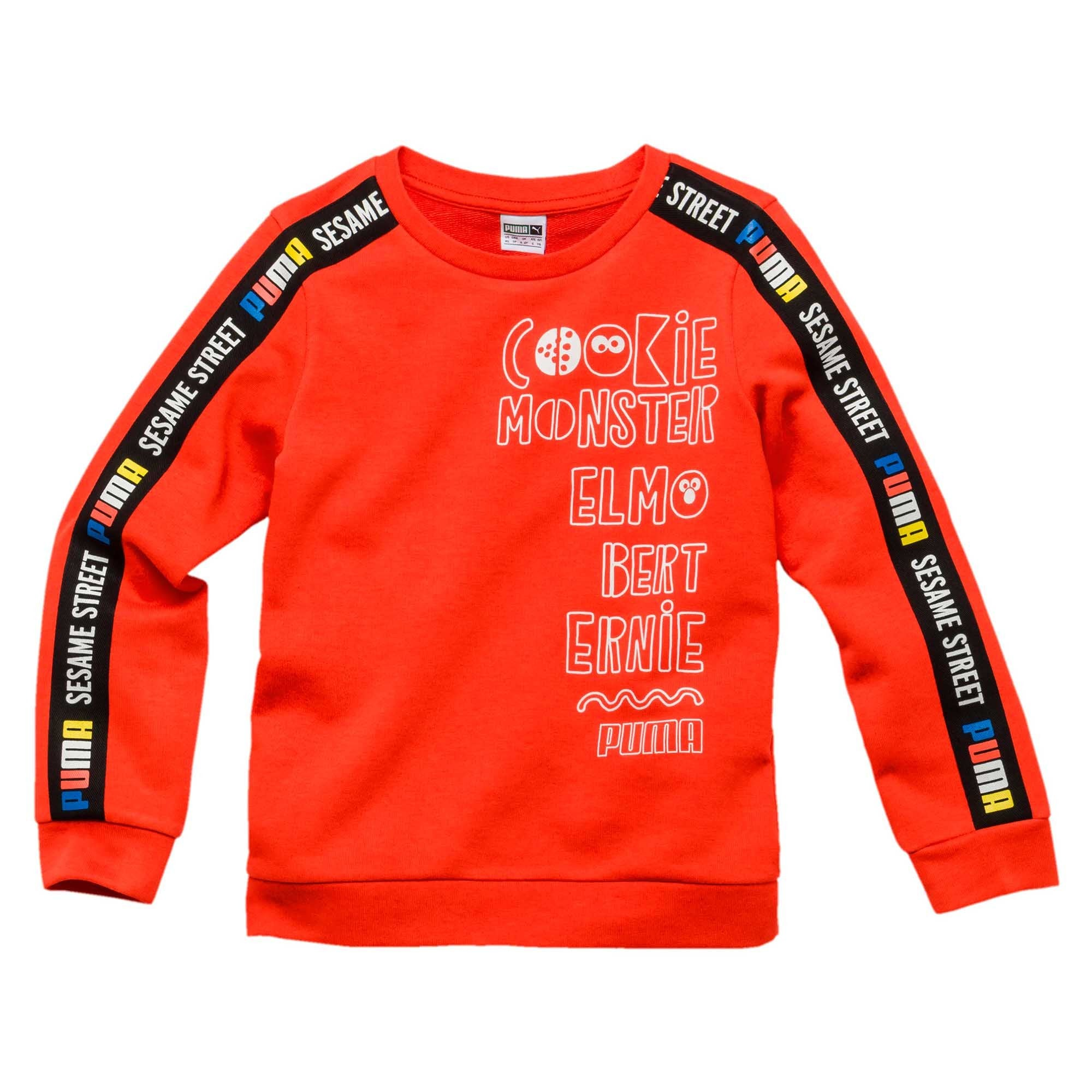 ad1286f05c3fe4 Buy Puma Boys Sesame Street Crewneck Sweatshirt Online in Singapore | Royal  Sporting House