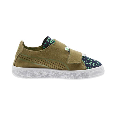 Unisex Suede Deconstruct Monster Pre School Sneakers