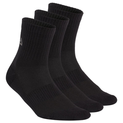 Singapore Reebok Socks Boys Sport Essentials Mid Crew Socks, Black