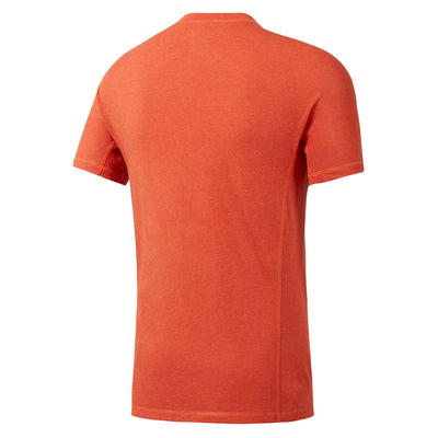 Men Reebok Crossfit Performance Blend Graphic Tee, Orange