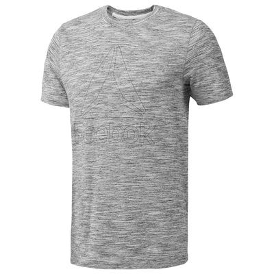 Women Marble Group Tee, Medium Grey Heather