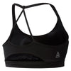 Women Workout Triangle Back Sports Bra, Black