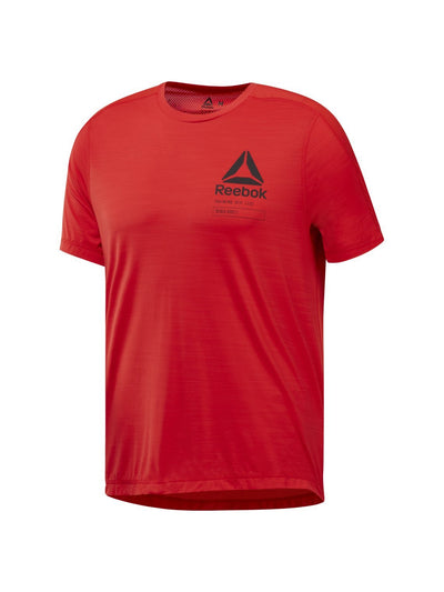 Singapore Reebok Men Activchill Graphic T-Shirt, Red