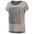 Women Crossfit Stretch Easy Tee, Powder Grey